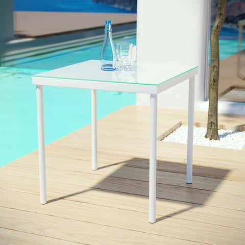 Image of Harmony Outdoor Patio Aluminum Side Table