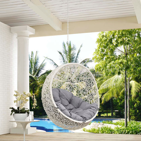 Image of Hide Outdoor Patio Swing Chair Without Stand