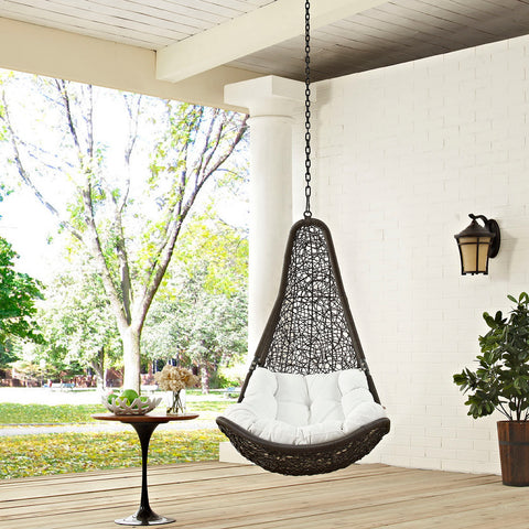 Image of Abate Outdoor Patio Swing Chair Without Stand