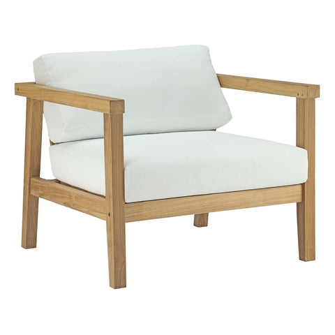 Image of Bayport Outdoor Patio Teak Armchair