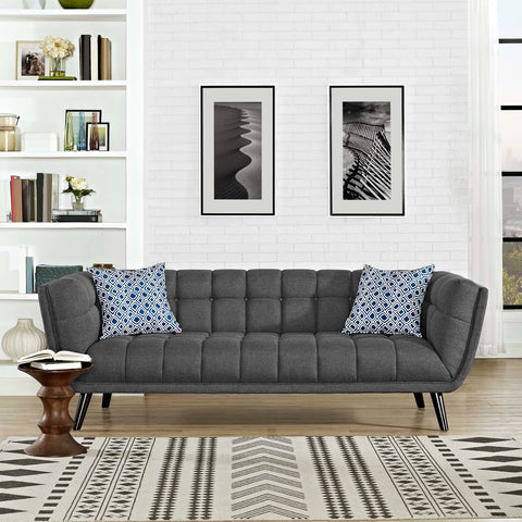 Image of Bestow Upholstered Fabric Sofa