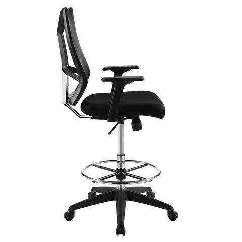 Image of Extol Mesh Drafting Chair