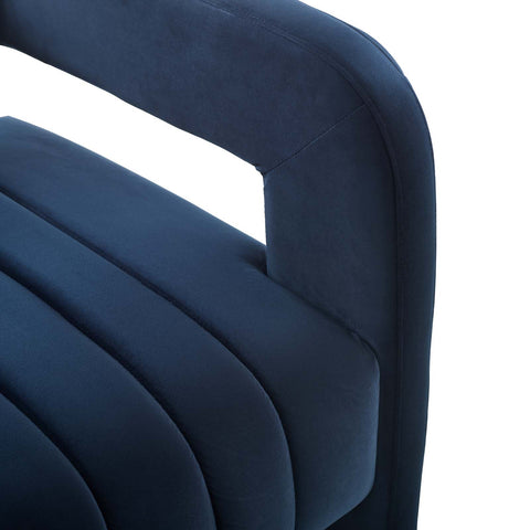 Image of Range Tufted Performance Velvet Accent Armchair