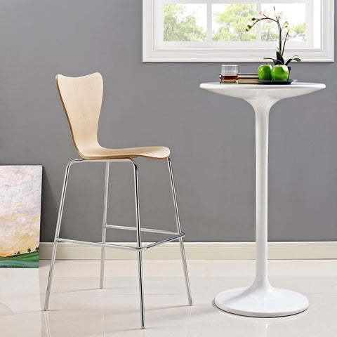 Ernie Wood Bar Stool