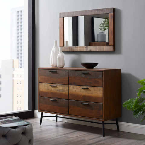 Image of Arwen Rustic Wood Dresser