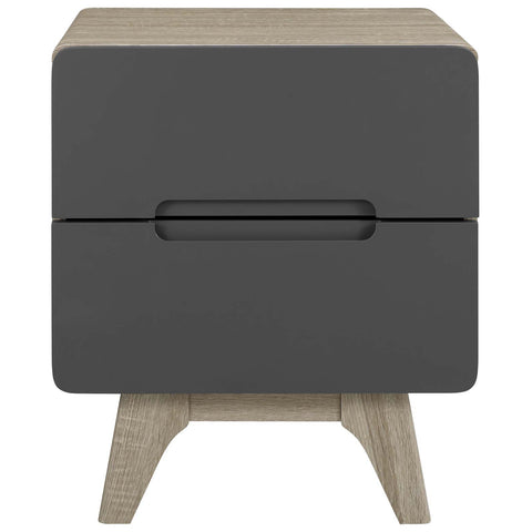 Image of Origin Wood Nightstand or End Table