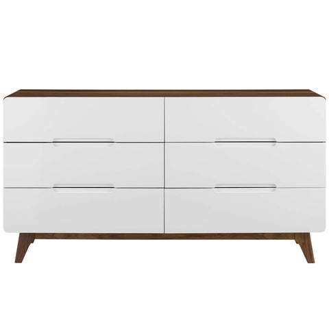 Origin Six-Drawer Wood Dresser or Display Stand