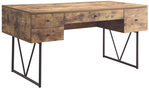 Analiese Writing Desk in Antique Nutmeg