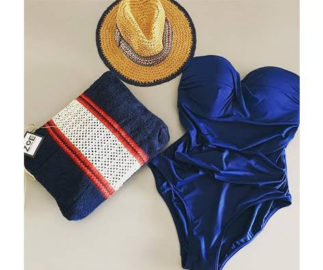 One-piece Swimsuits are the new Bikini