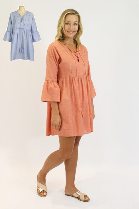 Lily-Rose Tunic in Sky
