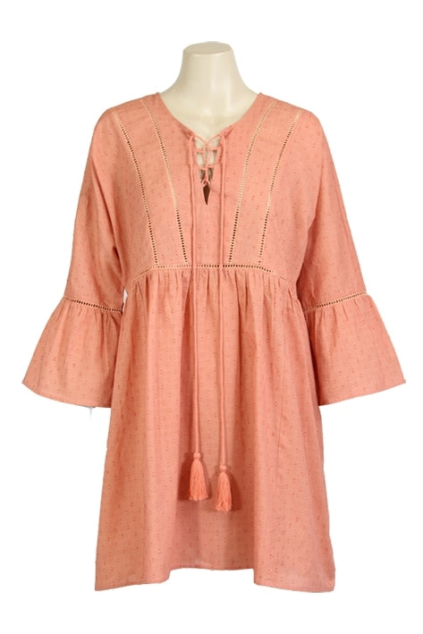Lily-Rose Tunic in Apricot