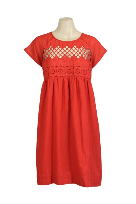 Safa Dress in Poppy