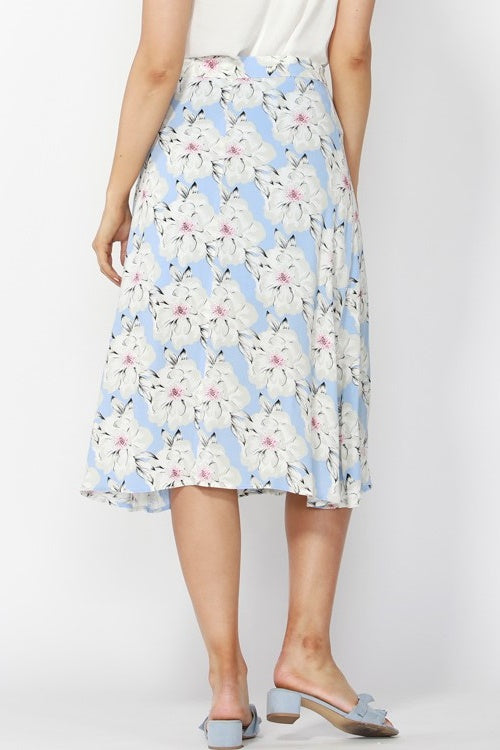 Seaside Paradise Wrap Skirt