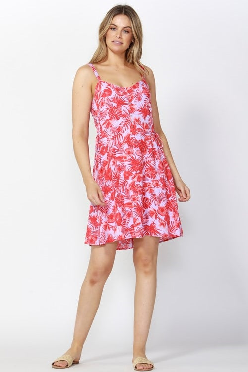 Waikiki Lace Up Dress