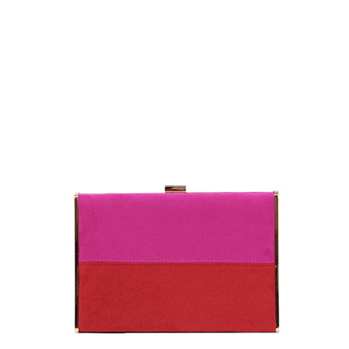 Clutch 21-459 Fuchsia Red