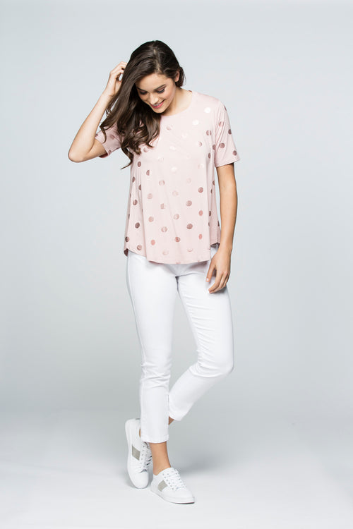 Catherine Top in Pink