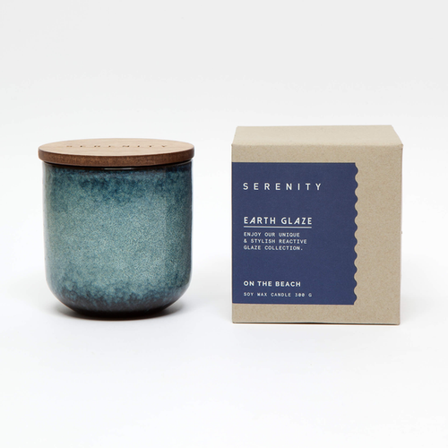 Earth Glaze Candle - On the Beach