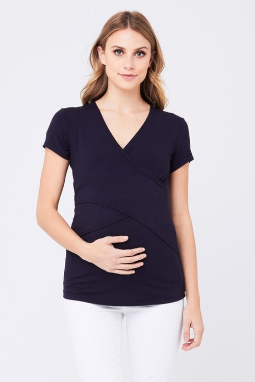 Embrace Tee in Navy