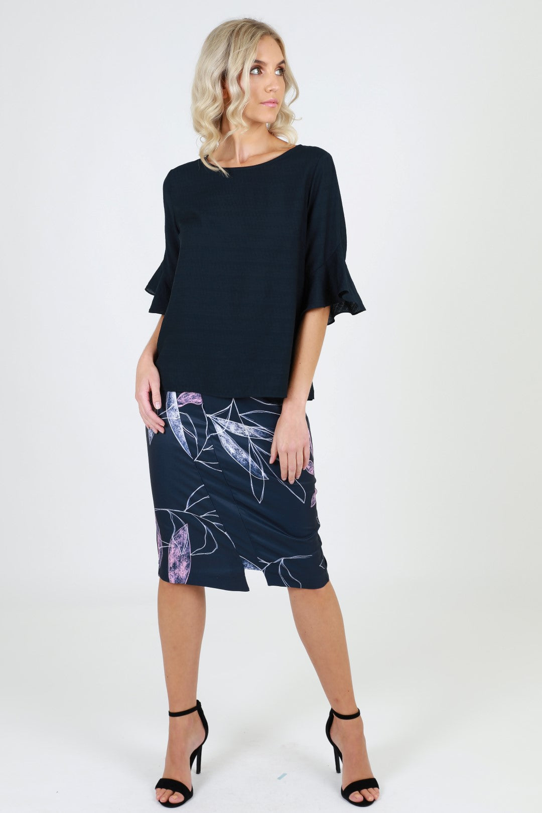 Violet pencil shape skirt from 3rd Love