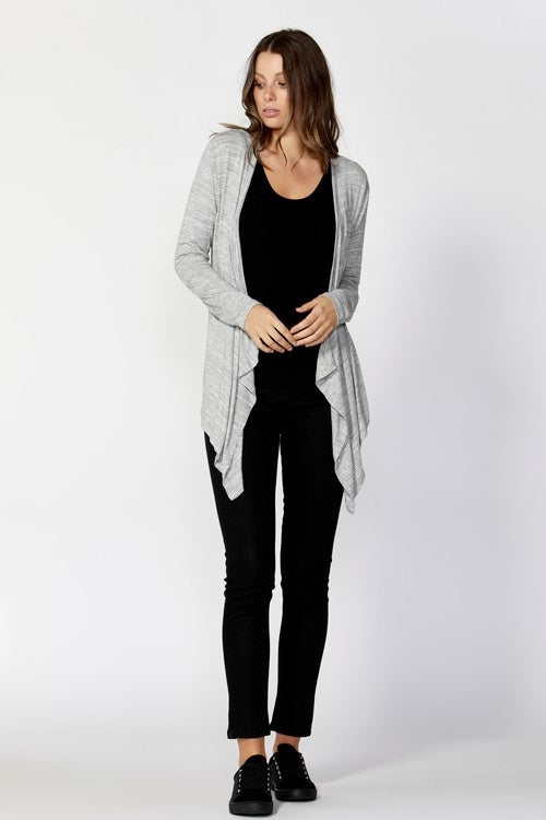 Melbourne Cardigan in Silver