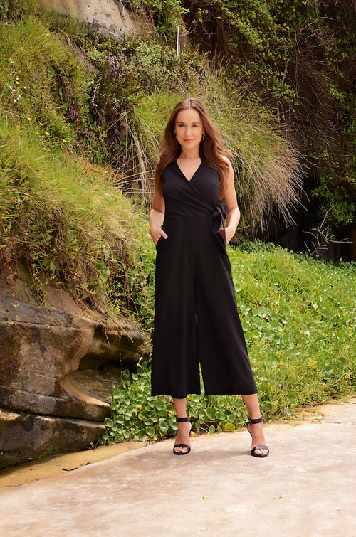 Claudia Jumpsuit in Black