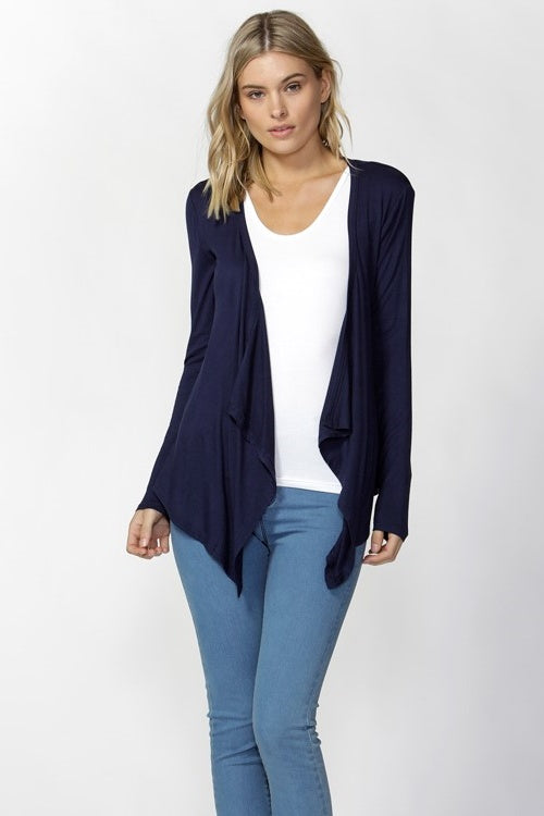 Melbourne Cardigan in Navy