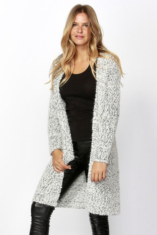 Portia Longline Textured Cardi from Sass