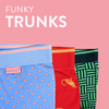 Trunk, Knitted Lenzing Modal, in various prints - Bundies