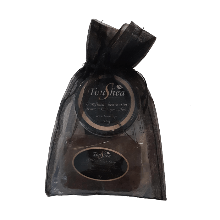 Sample Bag with Sample Black Soap - TouShea