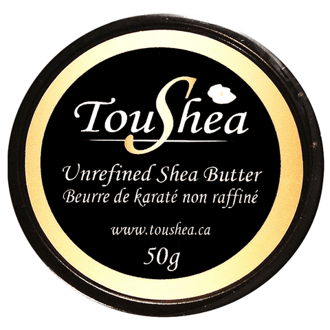 Unrefined Shea Butter 50g - TouShea