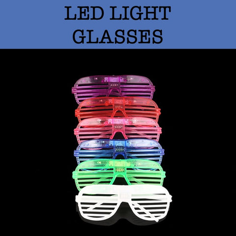 led light glasses party supplies corporate gifts door gift