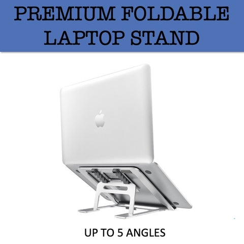 foldable laptop stand metal corporate gifts door gift