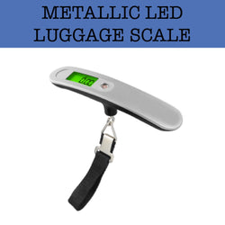 metallic led luggage scale corporate gifts door gifts