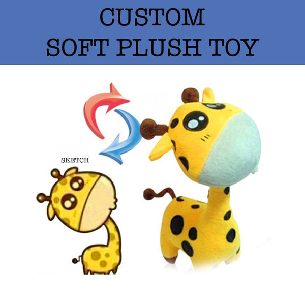 customised soft plush toy corporate gifts door gift