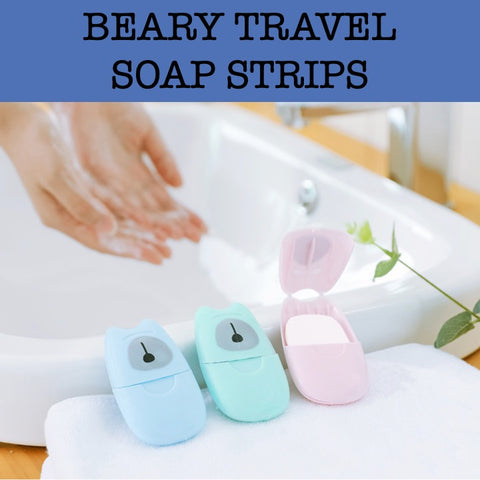 disposable travel soap strips corporate gifts door gift