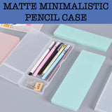 matte plastic pencil case corporate gifts door gift