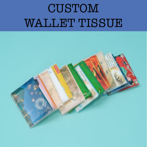 wallet tissue corporate gifts