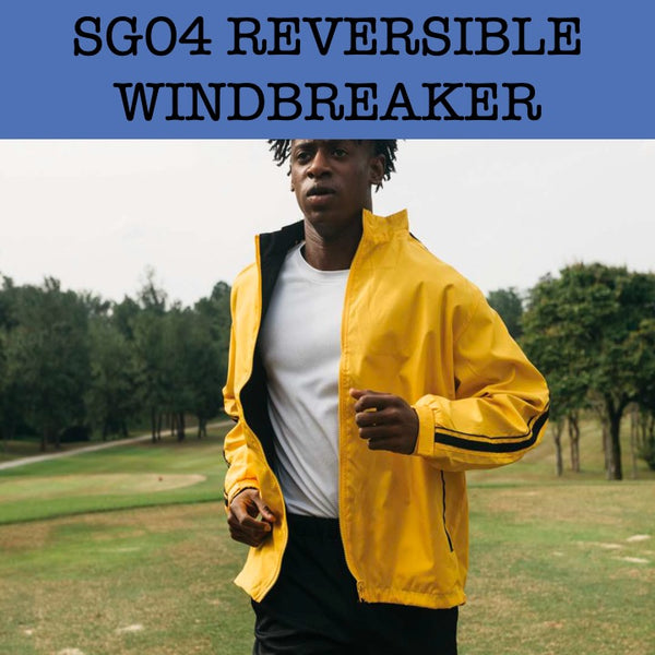 sg04 reversible windbreaker jacket corporate gifts door gift