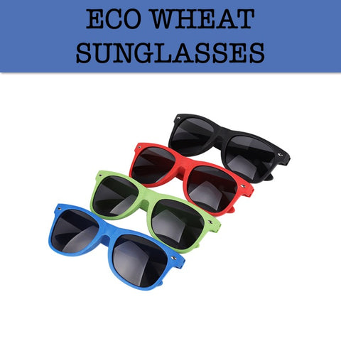 eco wheat sunglasses corporate gifts door gift
