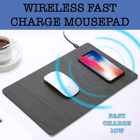 fast charge wireless mousepad corporate gifts door gift