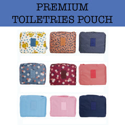 premium toiletries pouch corporate gifts door gifts