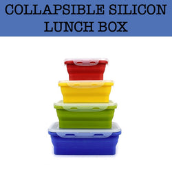collapsible foldable lunch box corporate gifts door gift