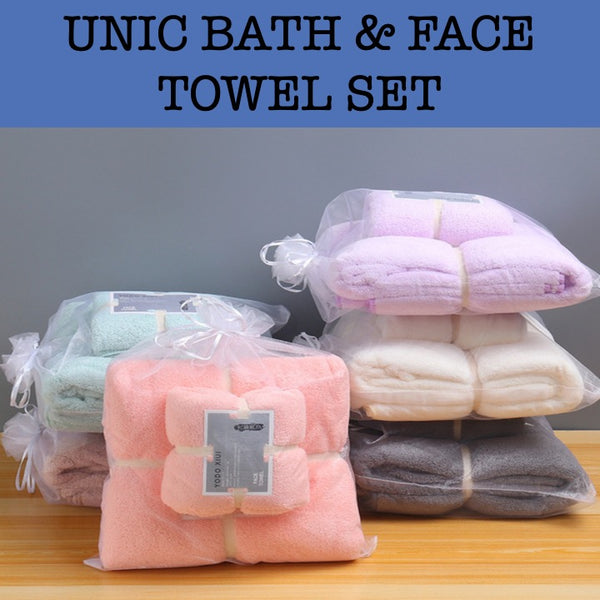 unic bath & face towel gift set esprit towel gift set corporate gifts door gift