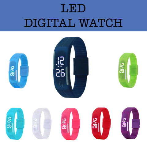 led digital watch corporate gift door gift