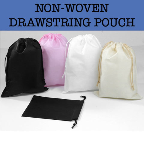 non woven drawstring pouch corporate gifts door gift