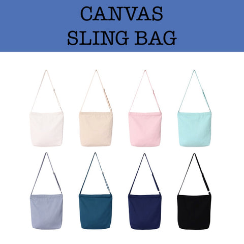 canvas sling bag corporate gift door gift