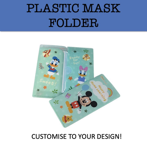 plastic mask folder holder mask case corporate gifts door gift
