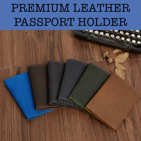leather passport holder corporate gifts