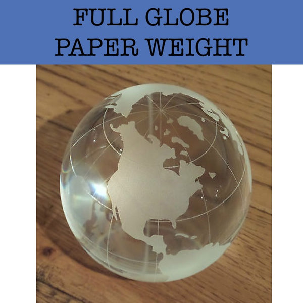 globe paper weight corporate gifts door gift