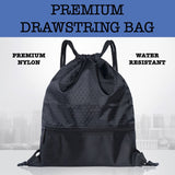 premium rope drawstring bag corporate gifts door gift